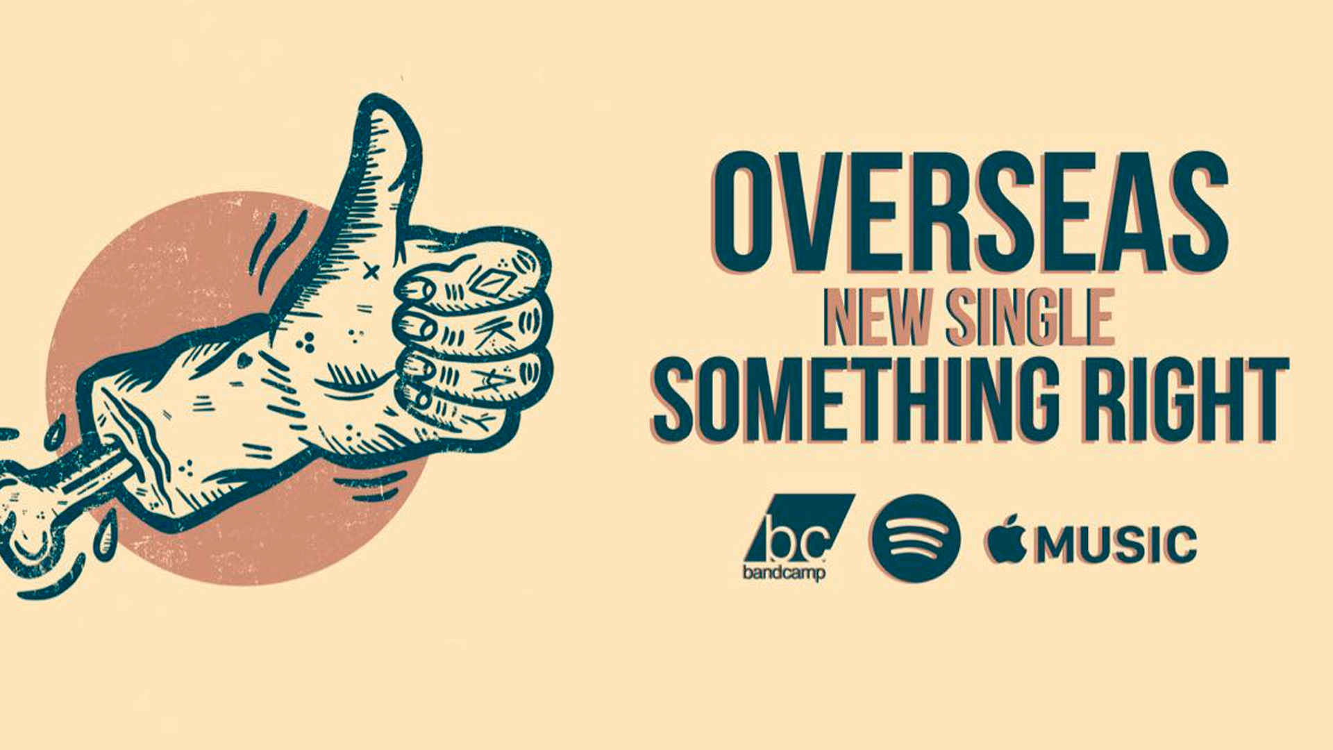 """Something Right"", nuevo sencillo de Overseas"