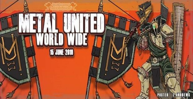 8 bandas nacionales son parte del Metal United Worldwide